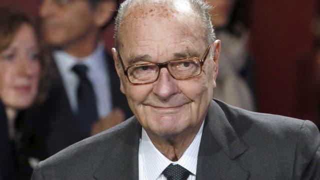 L'ancien président de la République le 21 novembre 2014 au musée du Quai Branly lors de sa dernière apparition publique