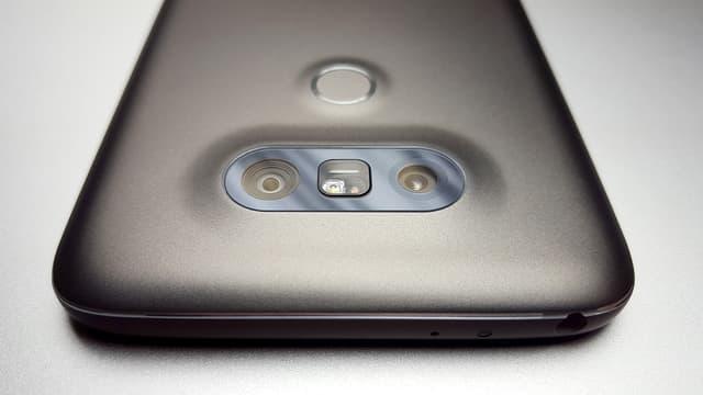 Les deux capteurs photo du LG G5