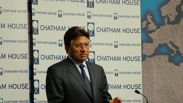 Pervez Musharraf en 2010.