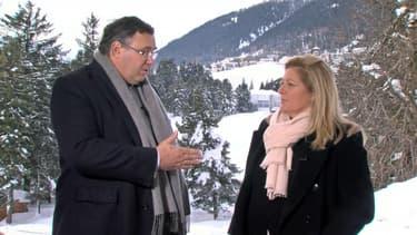 Patrick Pouyanné a répondu aux questions d'Hedwige Chevrillon en direct de Davos