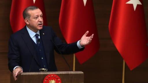 Le président Recep Tayyip Erdogan, le 20 décembre 2017