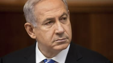 Le Premier ministre israélien, Benjamin Netanyahu, à Jérusalem le 10 mars 2013.