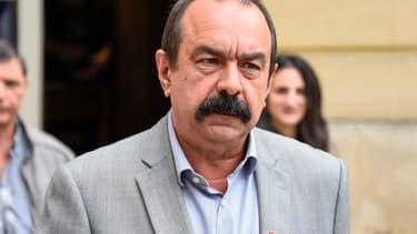 Philippe Martinez, le leader de la CGT.