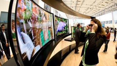 5,8 millions de téléviseurs été écoulées en 2014 en France, soit 200 000 de plus qu'en 2013. Mais en valeur, ce marché est resté en recul de 2,4%.