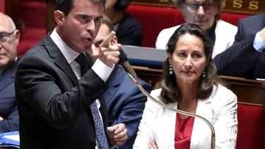 """""""Une telle attitude est désarmante révoltante et impardonnable"""", a dit Manuel Valls au sujet de Thomas Thévenoud."""