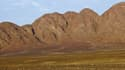 Une vue du désert d'Ica au Pérou, où s'est faite la découverte du fossile de ce volatile géant.