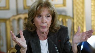 Gisèle Halimi, le 14 novembre 2003.