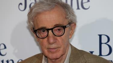 Woody Allen le 27 août 2013 lors d'un passage à Paris.