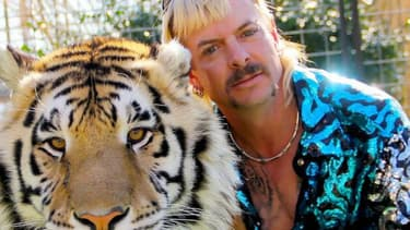 "Joe Exotic, principal protagoniste du nouveau documentaire Netflix, ""Tiger King"""
