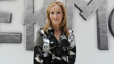 J.K. Rowling à Londres en 2011