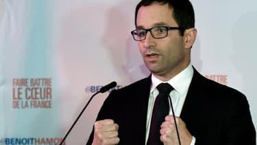 Benoît Hamon, candidat à la primaire de la gauche.