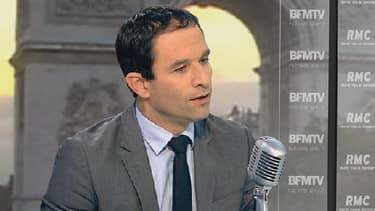 Benoît Hamon était l'invité de BFMTV et RMC ce 24 octobre.