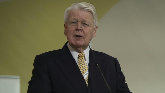 Olafur Ragnar Grimsson, le futur ex-président islandais, ici lors de la Cop 21, le 7 décembre 2015.