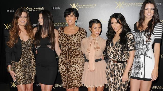 Kris Jenner entourée de ses filles, du clan Kardashian-Jenner/