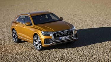 Audi a dévoilé ce mardi son première SUV coupé: le Q8.