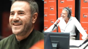 José Garcia et Antoine De Caunes