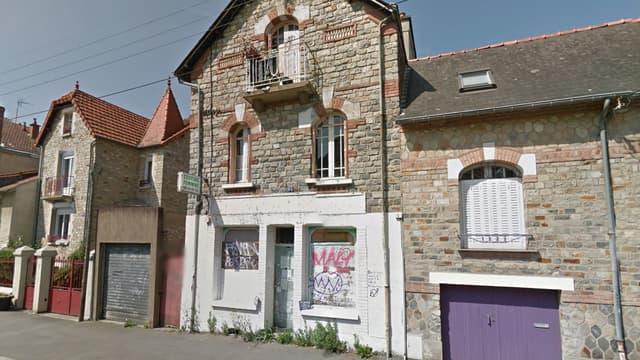 La maison de l'octogénaire Maryvonne Thamin, à Rennes