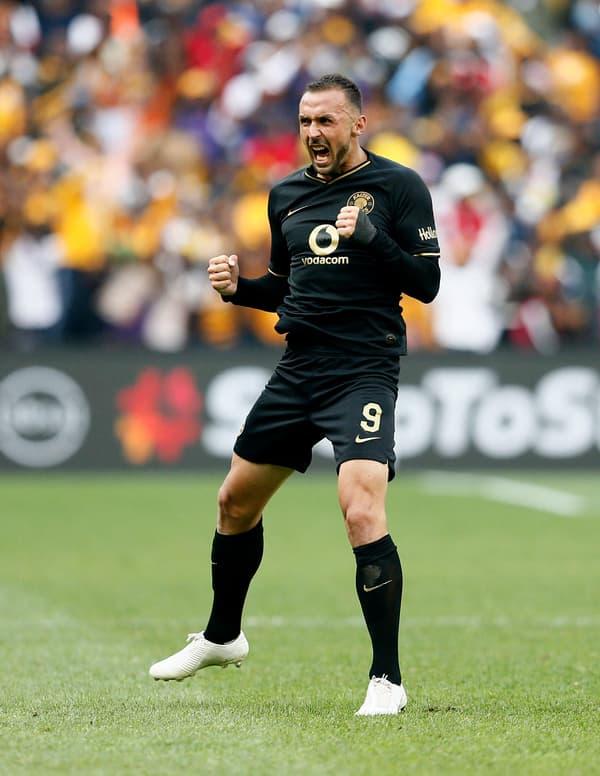 Samir Nurkovic, l'attaquant serbe des Kaizer Chiefs, recruté par le club sud-africain sur la base de sa fiche Transfermarkt