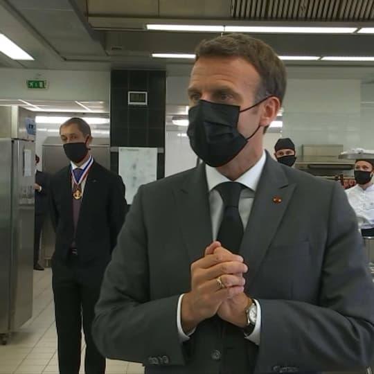 """EN DIRECT - Déconfinement: """"Il faut rester prudent"""", rappelle Emmanuel Macron"""