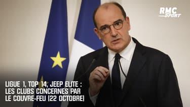 Ligue 1, Top 14, Jeep Elite : Les clubs concernés par le couvre-feu