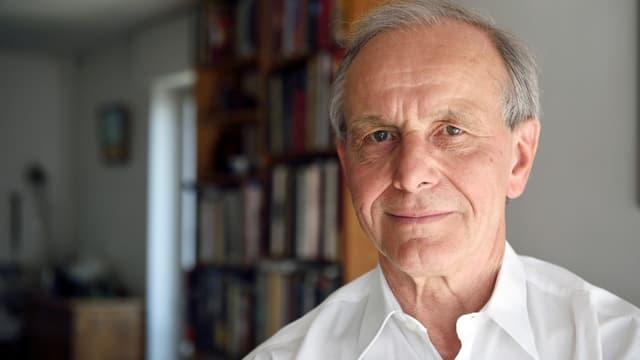 Axel Kahn, le président de la Ligue contre le cancer.