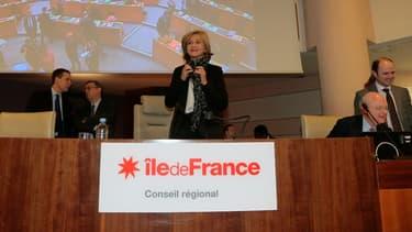 Valérie Pécresse, nouvelle présidente de la région Île-de-France