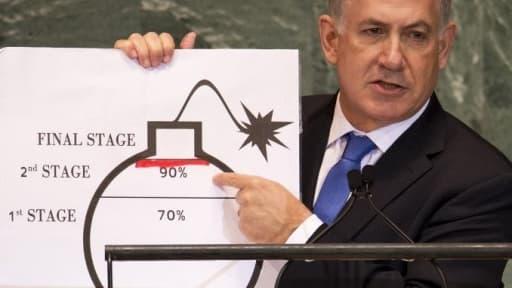 Benyamin Netanyahou, le Premier ministre israélien, chef du Likoud.