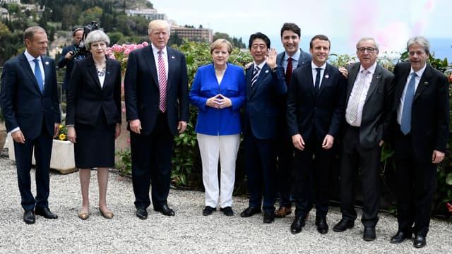 Ouverture du sommet du G7 à Taormine, en Sicile, le 26 mai 2017