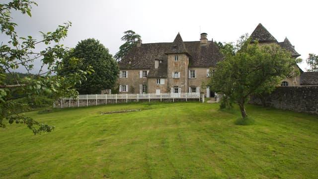 Château de Cautine en Corrèze