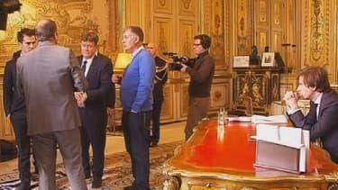 François Hollande présentera ses voeux depuis son bureau de l'Elysée.
