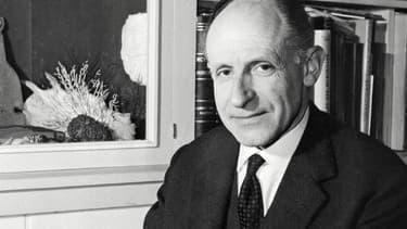L'écrivain Georges-Emmanuel Clancier en 1971