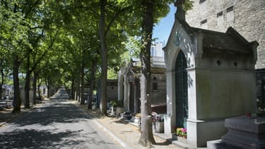 Une filière jihadiste, démantelée fin 2016, utilisait le cimetière Montparnasse comme planque. (Photo d'illustration)
