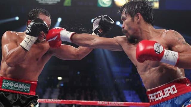 Manny Pacquiao face à Juan Manuel Marquez
