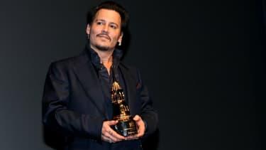 Johnny Depp à Santa Barbara en 2016