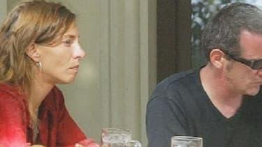 Bertrand Cantat et Kristina Rady