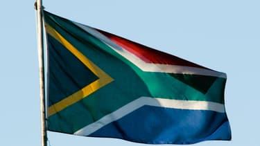 Un drapeau sud-africain - Illustration
