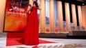"""Succédant à Mélanie Laurent, l'actrice Bérénice Béjo, la Peppy Miller de """"The Artist"""", beau succès du cinéma français montré sur la Croisette l'an passé, a ouvert avec grâce mercredi soir le 65e Festival de Cannes. /Photo prise le 16 mai 2012/REUTERS/Chri"""