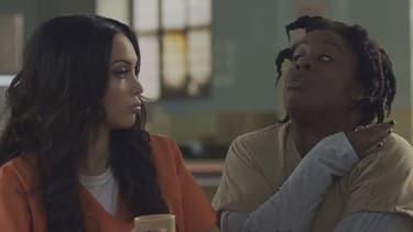 Nabilla dans Orange Is The New Black