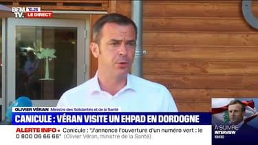 """Olivier Véran: """"Les Français doivent tenir bon"""" tandis que la circulation du virus augmente en cette période de canicule"""