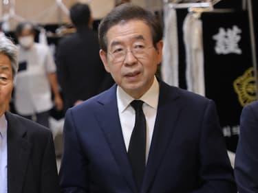 Le maire de Séoul (Corée du Sud) Park Won-soon, le 5 juillet 2020