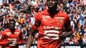 Ismaïla Sarr ouvre le score pour Rennes.