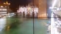 La marée haute à Venise ce mardi soir.