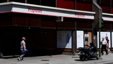 Banco Popular a été vendue pour un euro à Santander
