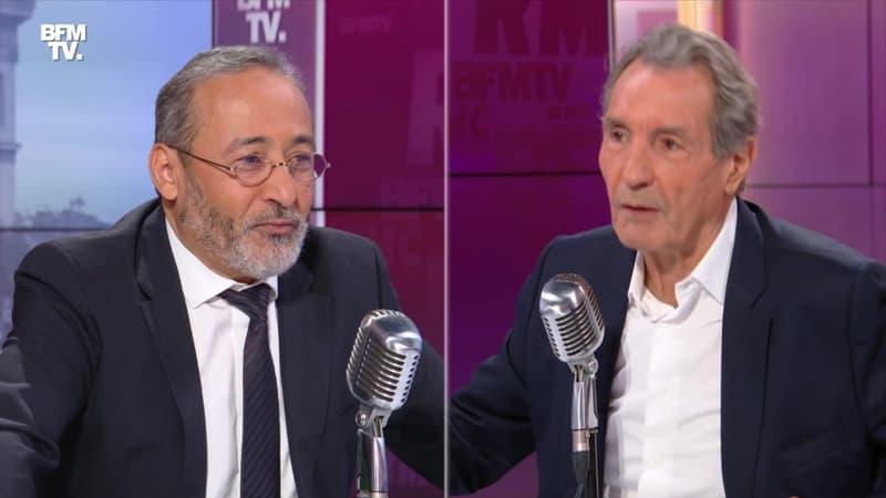 Tareq Oubrou face à Jean-Jacques Bourdin en direct - 25/10