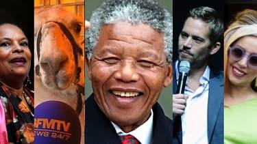 La mort de Nelson Mandela a particulièrement intéressé les lecteurs cette année.