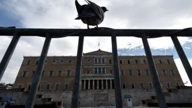 Le Parlement grec est sous haute surveillance avant la visite de la chancelière Angela Merkel.