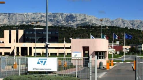 Des rumeurs de scission de l'activité mobile de STMicroElectronics ont fait bondir le titre ce vendredi à la bourse de Paris