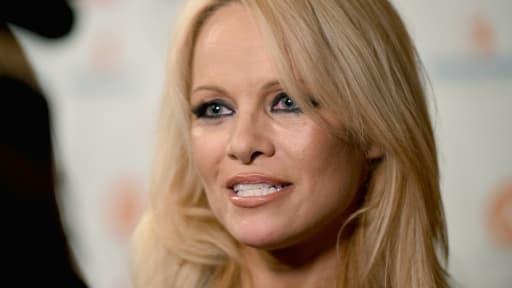 L'actrice américano-canadienne Pamela Anderson, le 11 septembre 2015 à Toronto