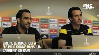 """Emery, le coach qui a """"le plus donné dans (l)a carrière"""" de Rami"""