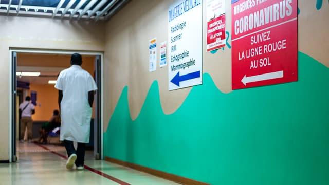L'hôpital de Pointe-à-Pitre en Guadeloupe, en septembre 2020.